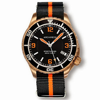 History of Bronze and watches article ARCHIMEDE+SportTaucher+BRONZE+12