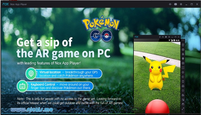 how to play pokemon go game video download