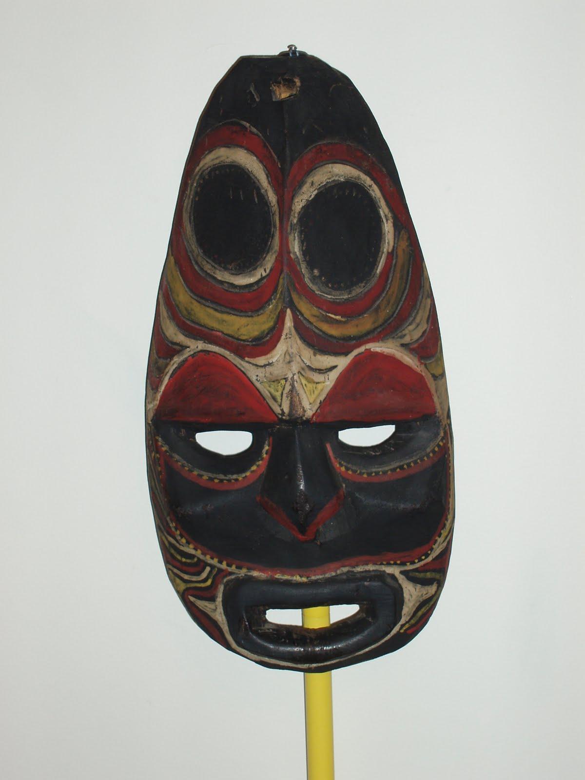 Masks Of The World Mascaras Del Mundo Oceania