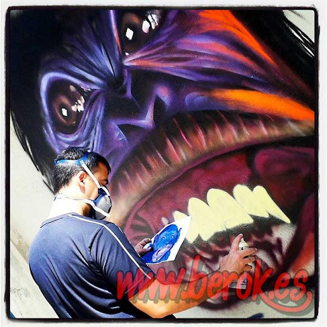 Artistas de graffitis profesionales en Catalunya