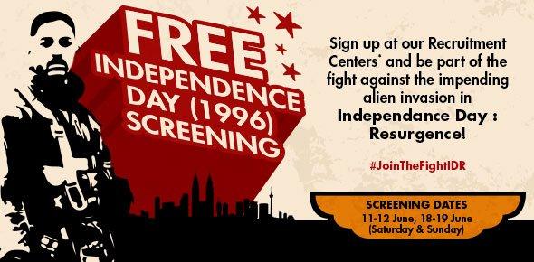 TGV Cinemas Free Movie Screening Tickets
