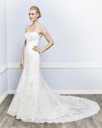 Lindos vestidos de novias | Colección Kenneth Winston 2017