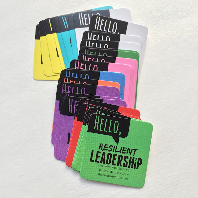 Leadership Cards Hello Strategies