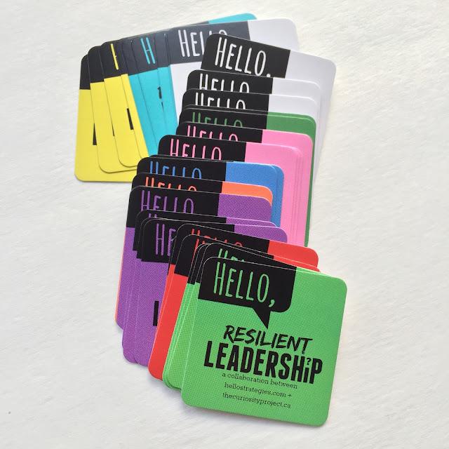 Leadership Cards Hello Strategies