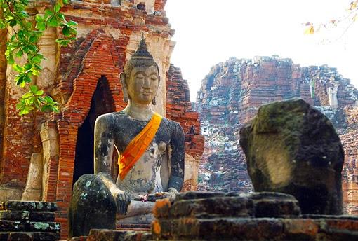 Buddha statue at Ayuttaha