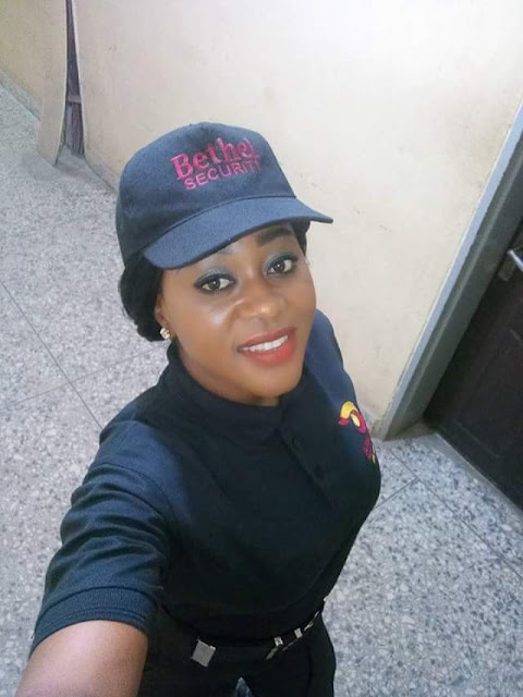 """Do not wait for Manna to fall on you""-  Nigeria lady narrates how accepting to work as a security guard led to her getting a federal job in Abuja"