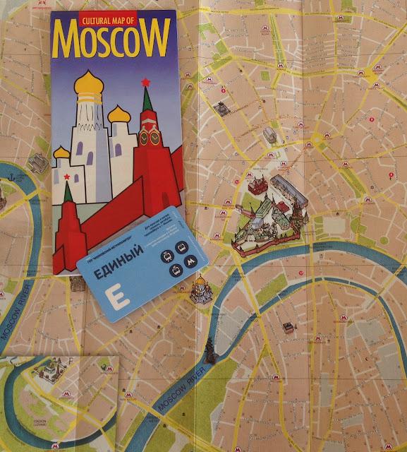 Mapa de Moscou metro