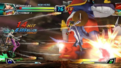 Tatsunoko vs Capcom Ultimate All Stars Apk