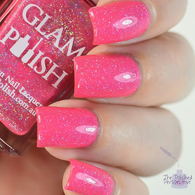 glam polish true love's kiss swatch