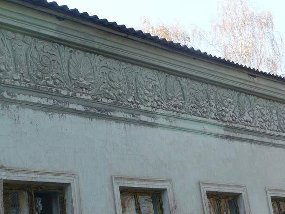 Прелесне. Палац Бантиша. 1837 р. Декор на будівлі