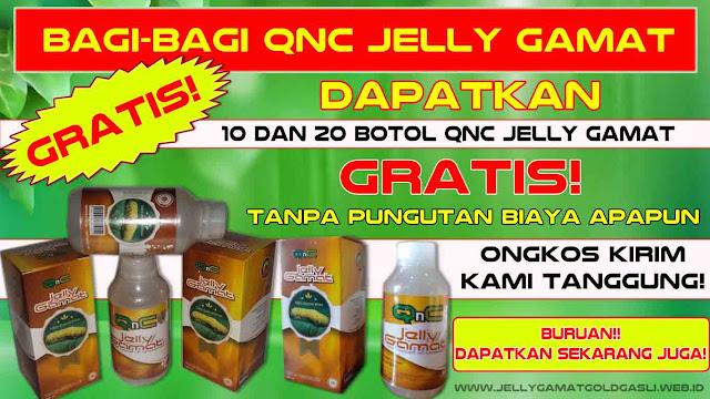 Cara Mendapatkan QnC Jelly Gamat GRATIS
