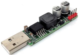 CONVERTISSEUR USB 5v  VERS 12V