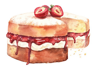 food, illustration, food illustration, watercolour illustration, watercolour illustrator, dessert illustration, cake illustration, watercolour cake, watercolour artist, watercolour illustrators, uk, freelance illustrator, london illustrator, watercolour publishing, beautiful food illustration,