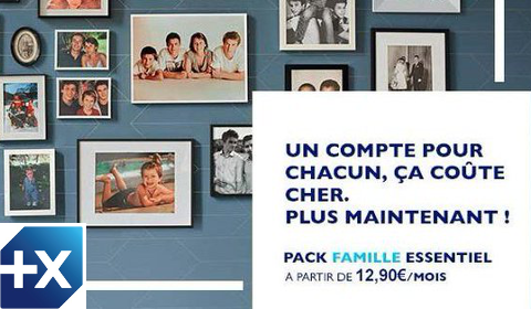 Pack Famille Banque Populaire