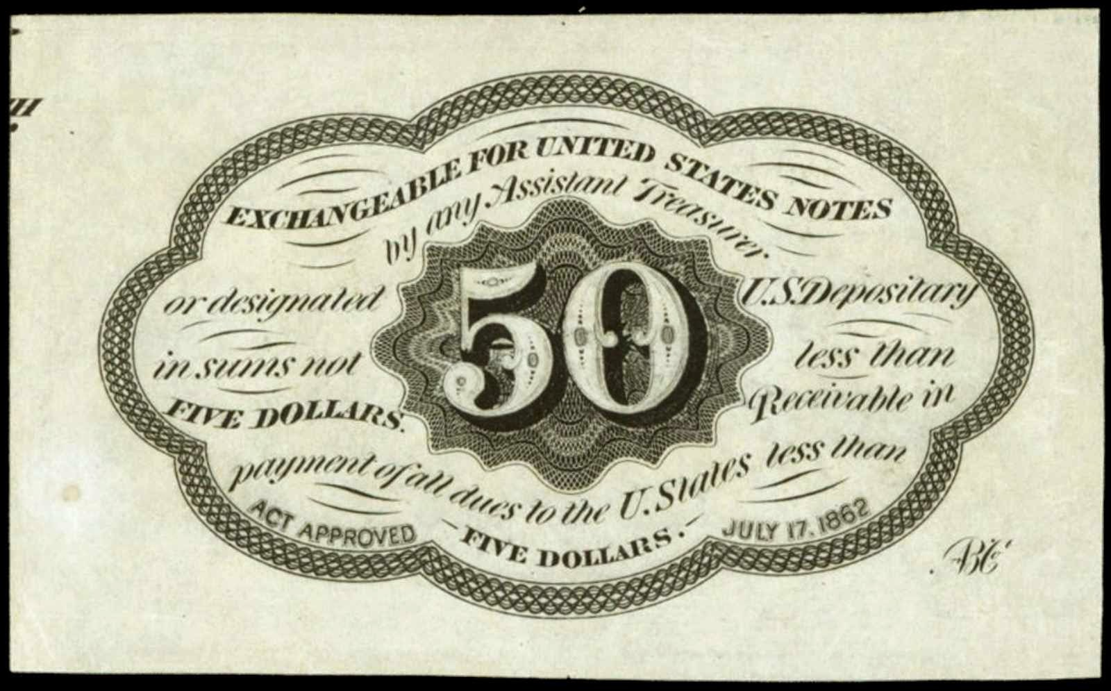 US Postage Currency 50 Cents