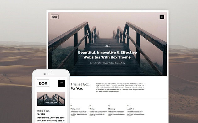 Houston – Brilliant Business Services WordPress Theme