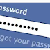 Change My Facebook Password Login
