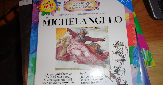 Art History Month #7: Michelangelo