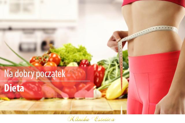 Na dobry początek poprawy swojego wyglądu: Dieta