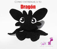 como-entrenar-a-tu-dragon-amigurumi