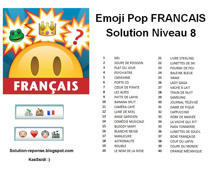 97 Solution Emoji Quiz En Francais Emoji Quiz Solution