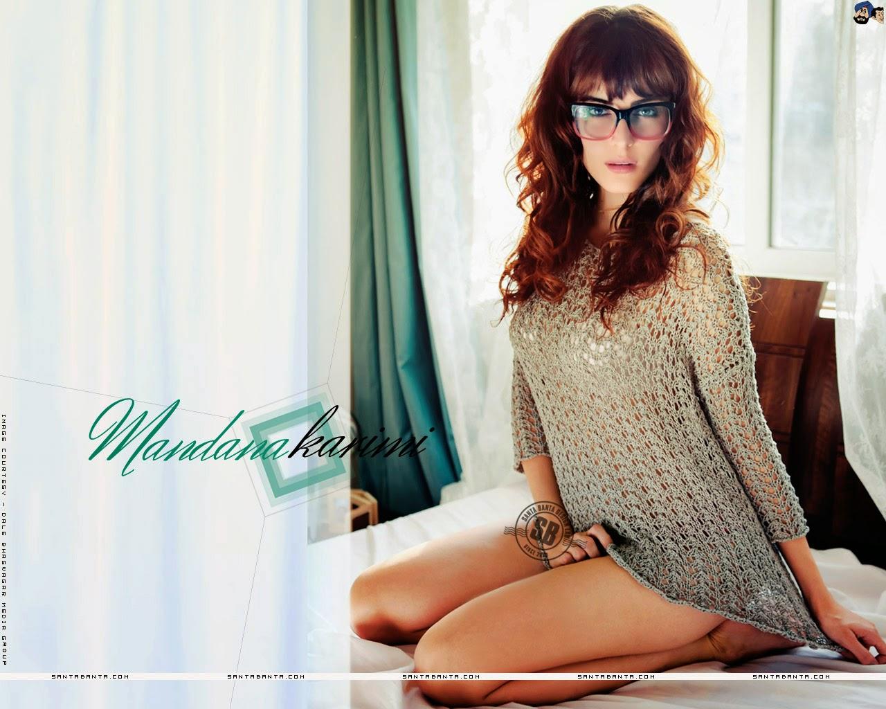 Mandana Karimi In Specs