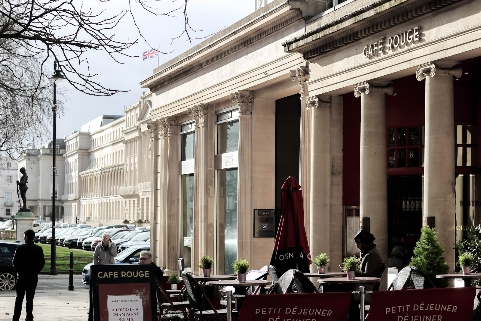 Cafe Rouge Historic Building in Cheltenham