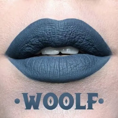 kat von d Everlasting Liquid Lipstick lip swatch woolf