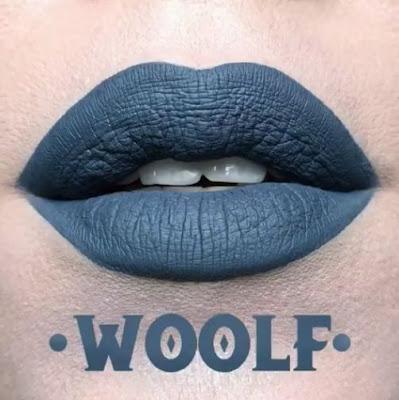 kat von d Everlasting Liquid Lipstick lip swatch woolf