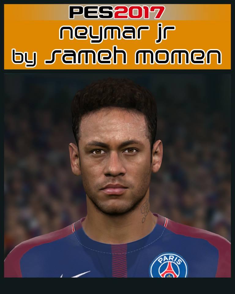 PES 2017 Neymar Jr face by Sameh Momen