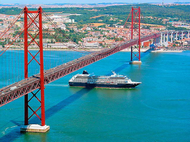Rio Tejo em Lisboa