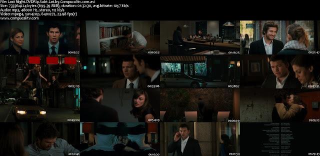Solo una Noche DVDRip Descargar Subtitulos Español Latino 1 Link