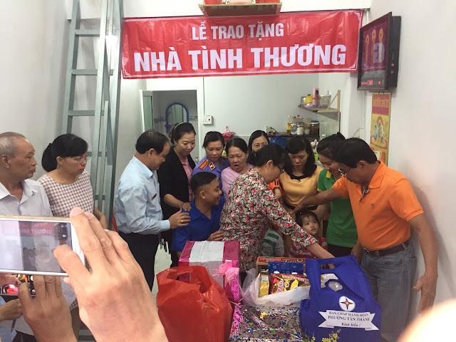 Thép Bắc Việt tham gia hỗ trợ trao nhà tình thương cho hộ gia đình nghèo quận Tân Phú