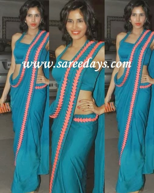 RIBBON BORDER SAREE