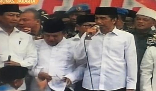ini Kisah Jokowi-JK Ikuti Shalat Jumat di Monas
