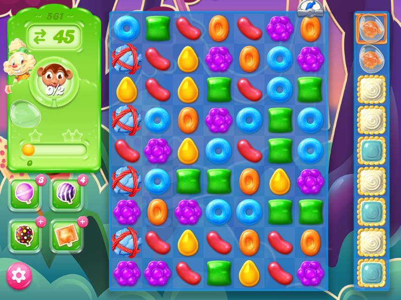 Candy Crush Jelly Saga level 561