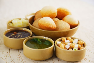 Image of Pani puri in Central India