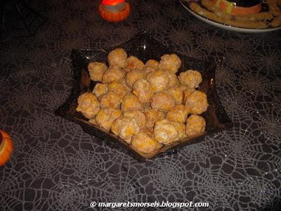 Margaret's Morsels | Halloween Brain Sausage Balls