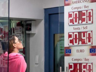 Se mantiene el dólar por arriba de los $20.40 en el AICM