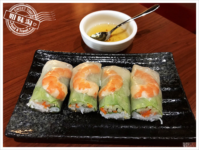 日月香越南料理-最好吃的生菜春捲非這莫屬