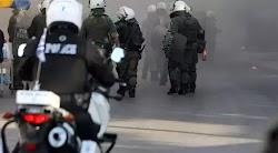 Επεισόδια οπαδών Θεσσαλονίκη: H ένταση διήρκησε είκοσι λεπτά, ενώ τα επεισόδια παρατηρήθηκαν τόσο έξω από το Παλέ ντε Σπορ, όσο και στην Εγν...