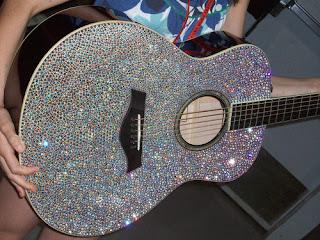 Glitter guitar- Geneza metamorfozy mojej gitary
