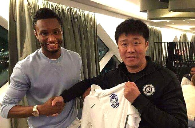 DONE DEAL! Mikel joins Chinese Super League