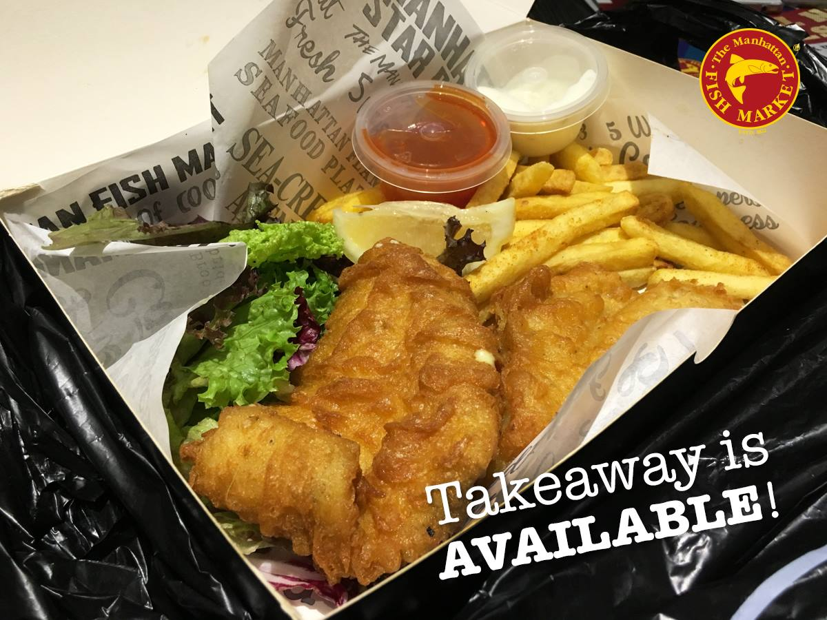 Best deal in town promo the manhattan fish market for 99 5 the fish