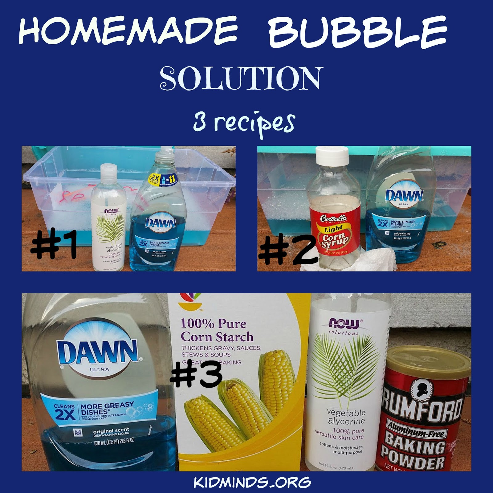 Kid Minds : How to Make Giant Bubbles