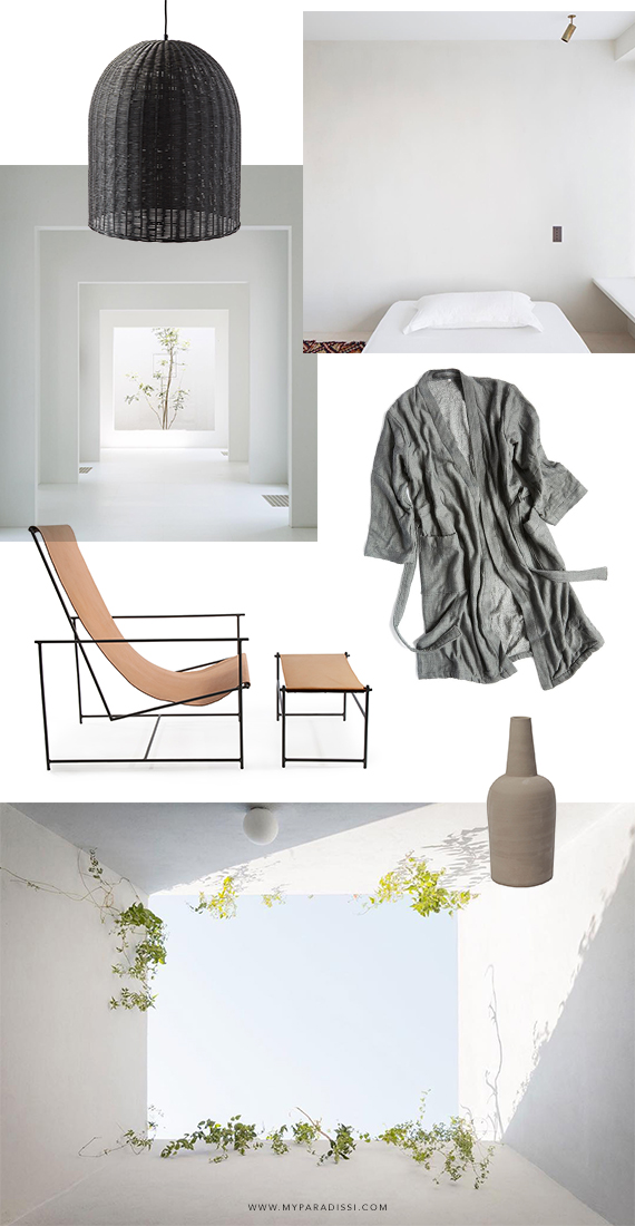 Casual minimalism moodboard by My Paradissi