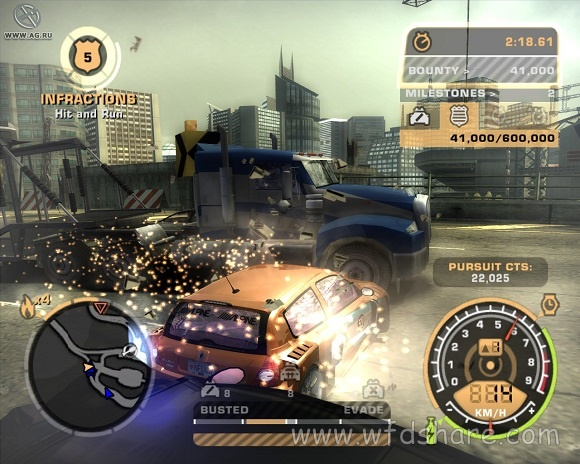 Repack nfs most wanted 2005