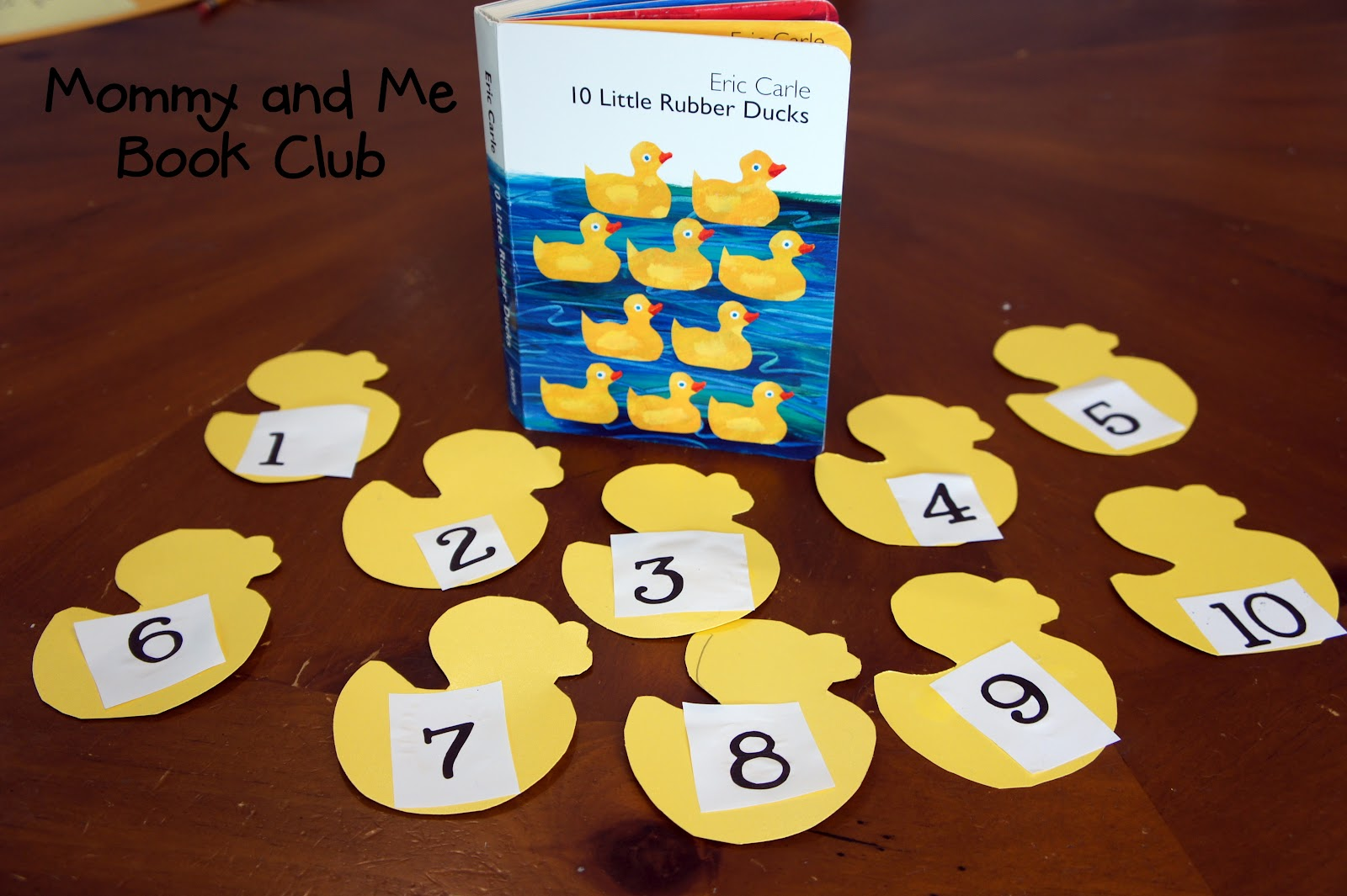 Mommy And Me Book Club 10 Little Rubber Ducks