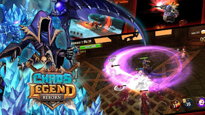 Chaos Legend Reborn v1.59.7 Mod Apk ( Increased Critical Attack ) Terbaru