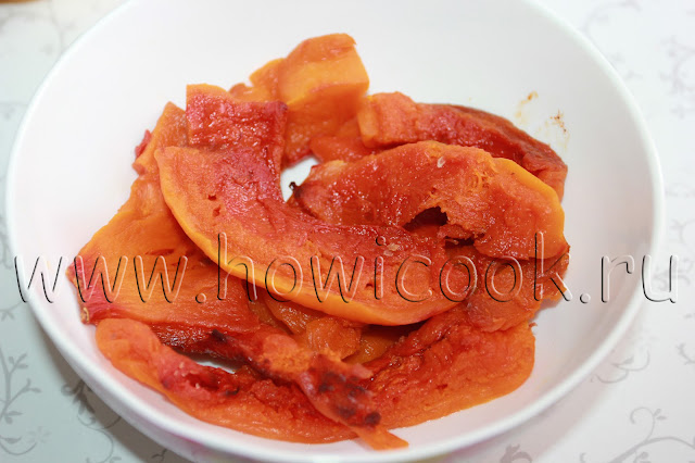 рецепт салата с тыквой, рукколой и фундуком с пошаговыми фото